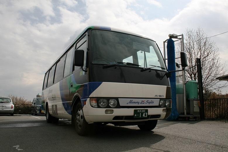 メモリー観光バスの撮影にいってきました