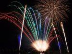 川辺祇園祭りの花火