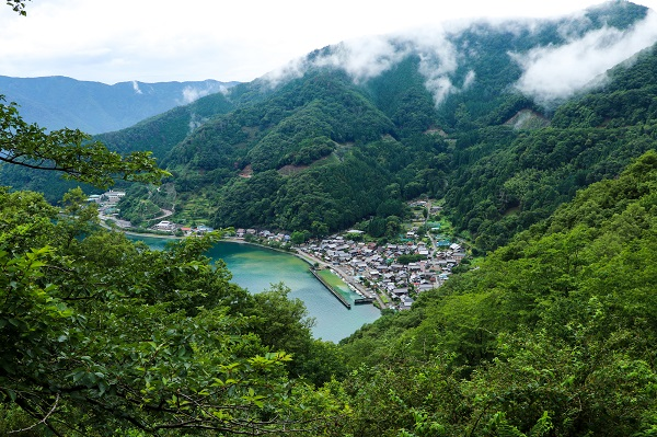 滋賀県「奥琵琶湖パークウェイ」