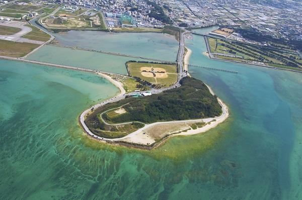 沖縄県「瀬長島」