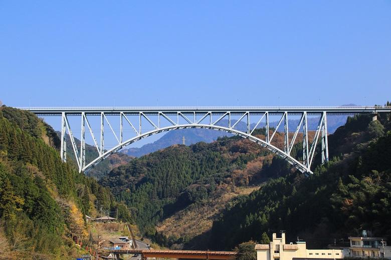 蒼雲橋(田野町). そううんきょう