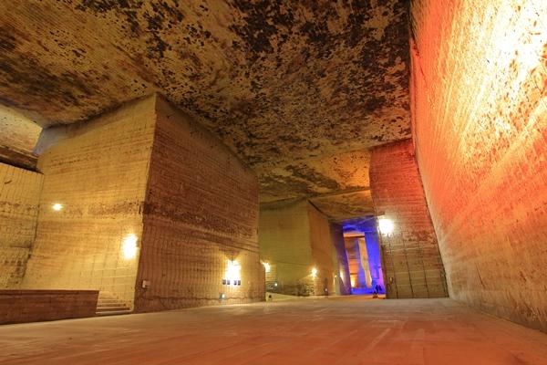 大谷資料館の地下採掘場