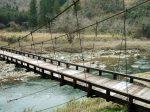 魚ケ渕のつり橋