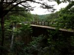 るり渓の眺め