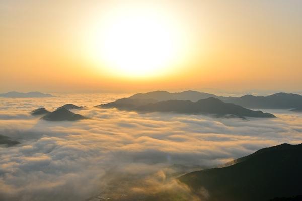 岩屋山の雲海