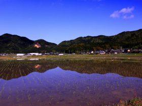 春日町の田園風景