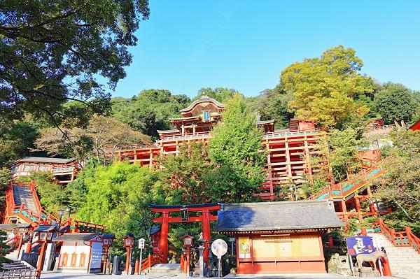 佐賀県「祐徳稲荷神社」
