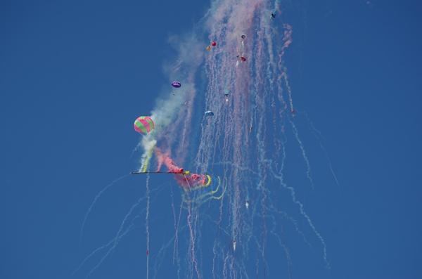 能勢祭り・農民ロケット