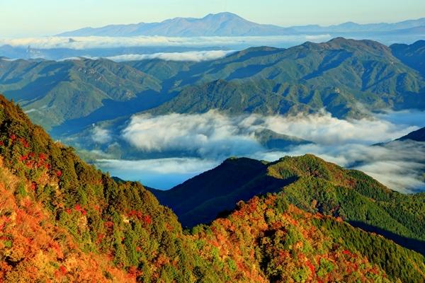 両神山からの絶景