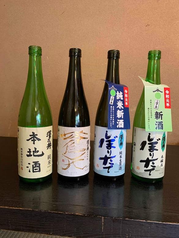 澤乃井(地酒)
