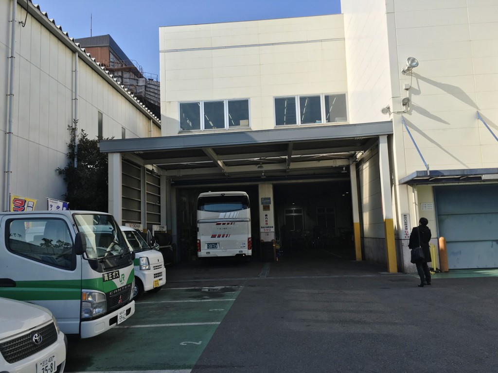 松井さんの担当するバス