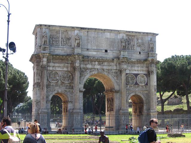 コンスタンティヌスの凱旋門の画像 p1_9