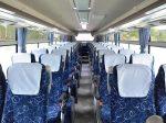 大型観光バスの座席イメージ