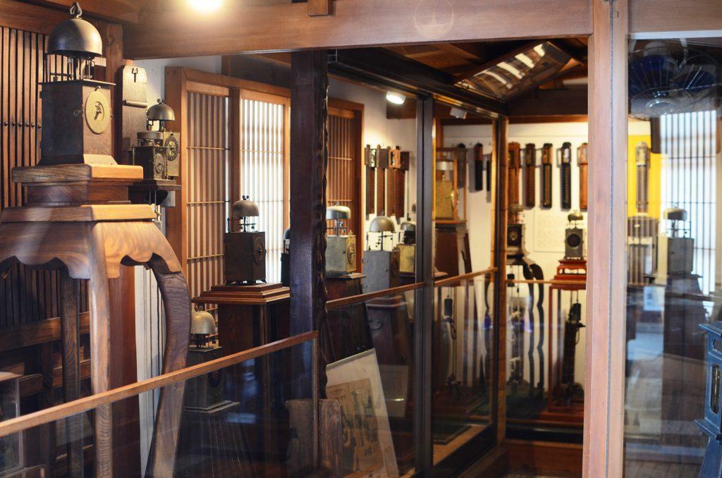 江戸時代の時計も展示