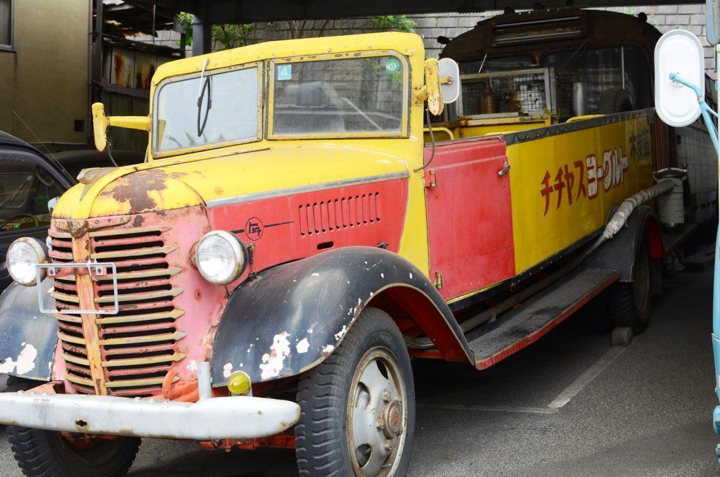 古い商用車も保存