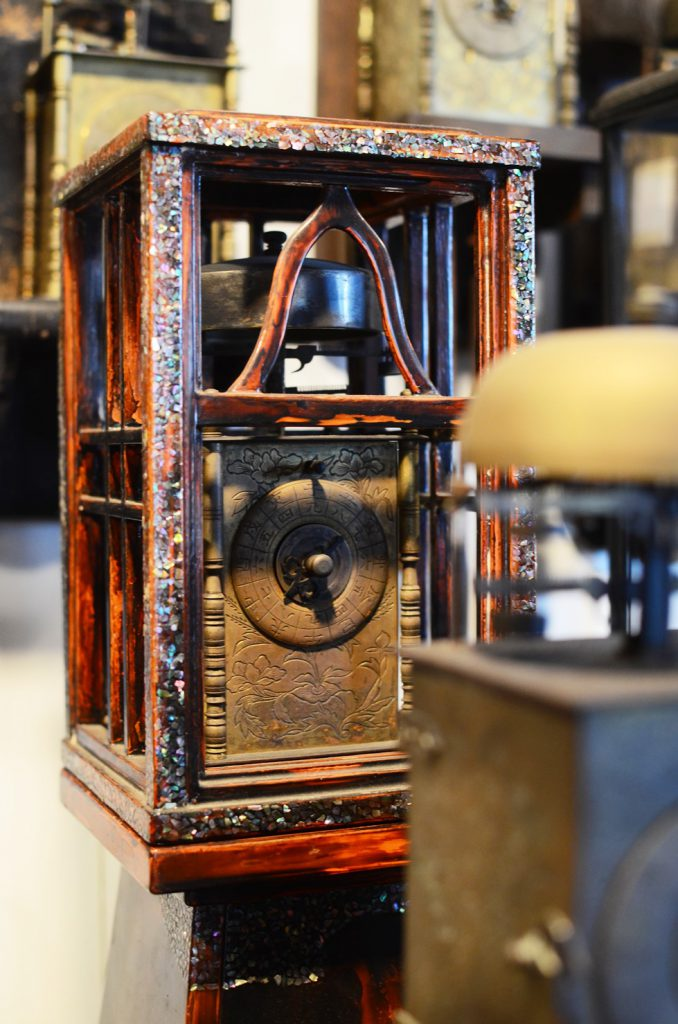 福山自動車時計博物館所蔵の古い時計