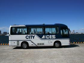 小型の観光バス