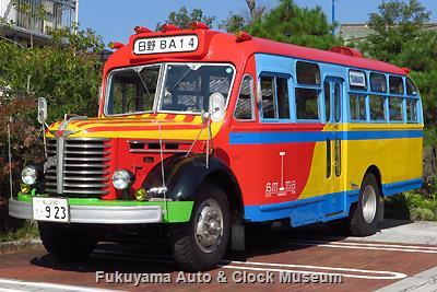 試乗予定のバス