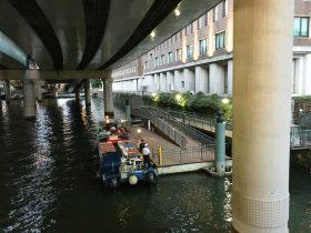 日本橋クルーズ船