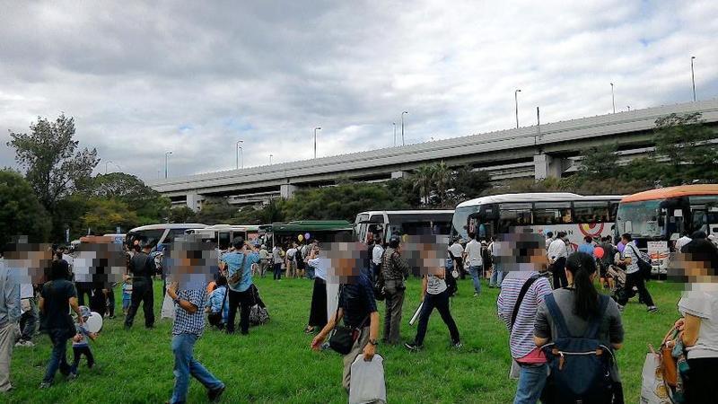 関西の路線バスが大集結!
