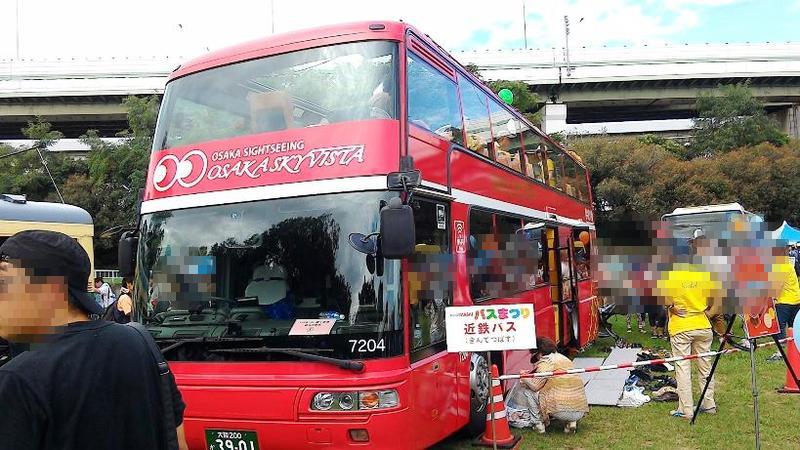 大阪観光の目玉・オープントップバス