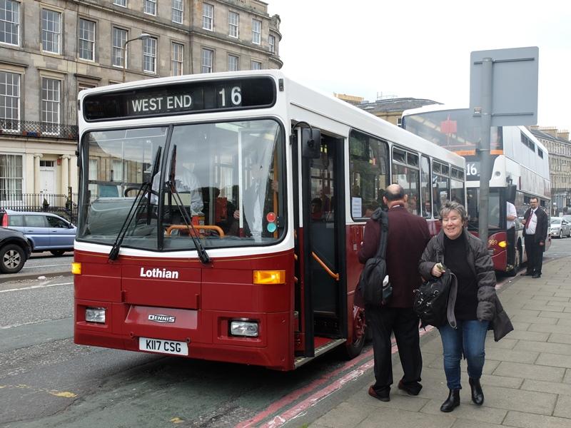 1991年度製のバス