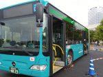 京成バスの新連節バス