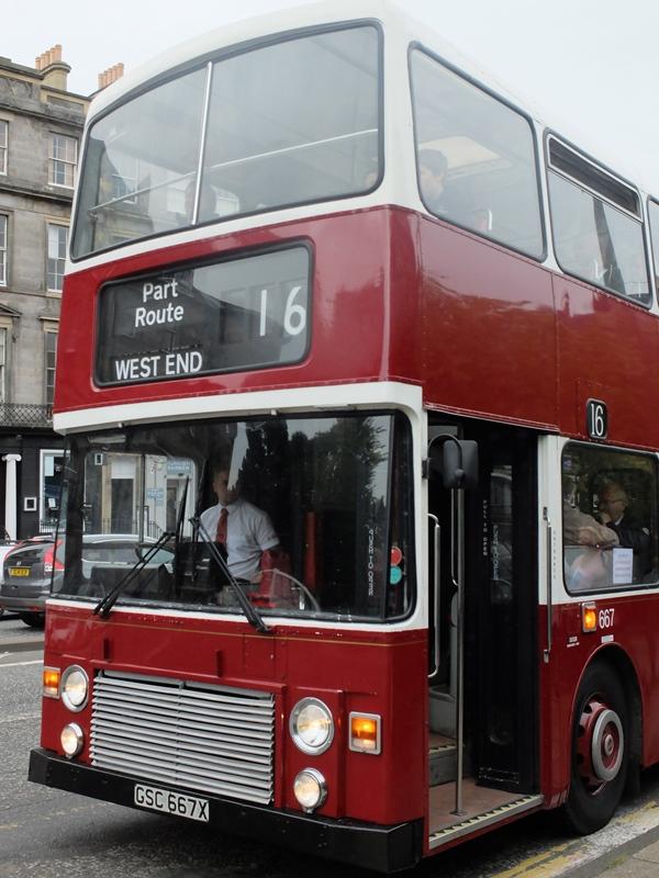 1982年度製のバス