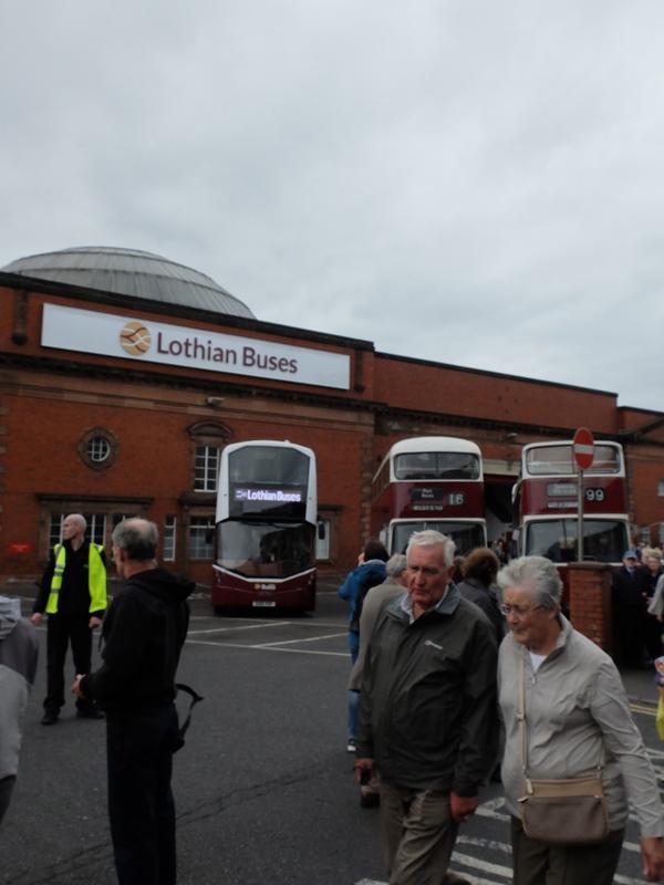 Lothian Busesのバス車庫