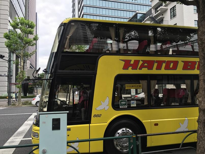 ダブルデッカータイプの大型バス