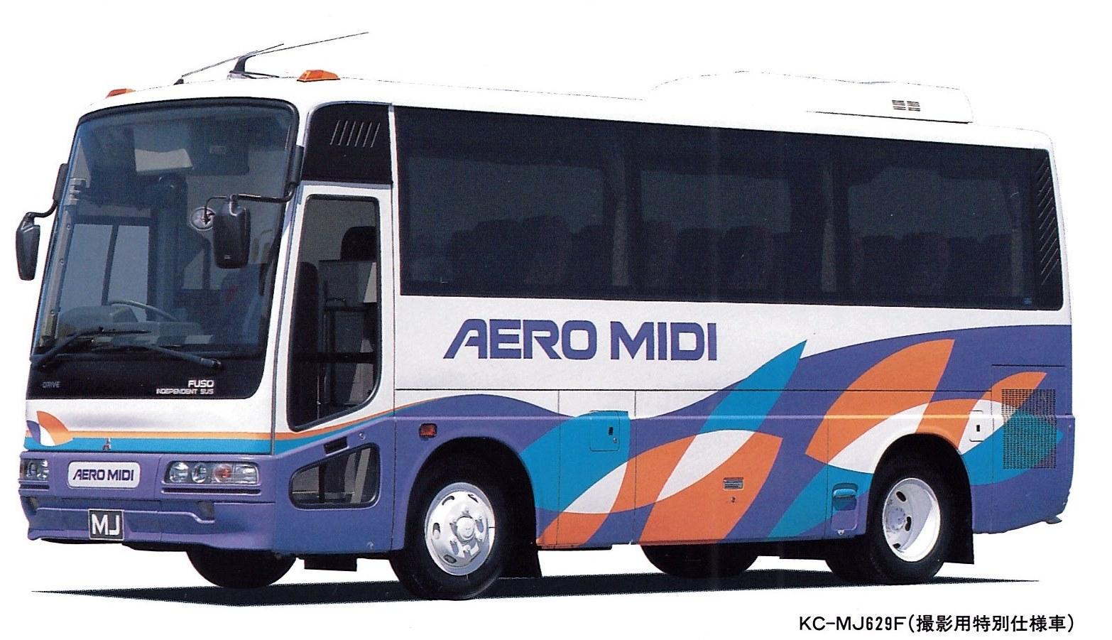 エアロミディMJハイデッカー車