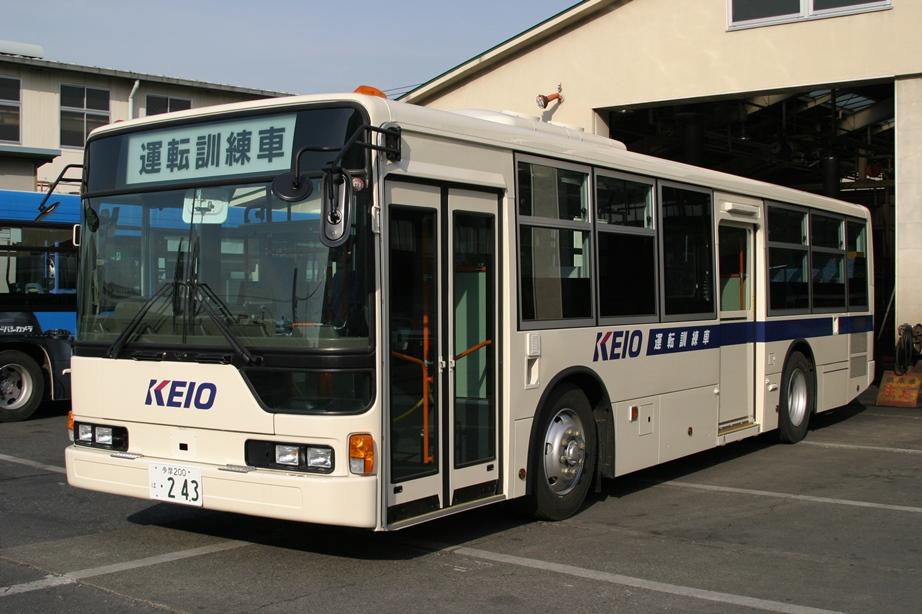 京王バスの運転訓練車