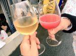 ロゼとスパークリングワインを試飲