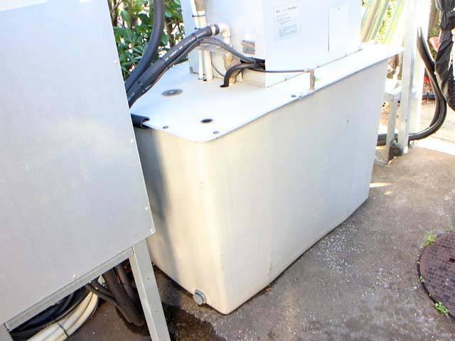 貯水タンク・地上置きに変更
