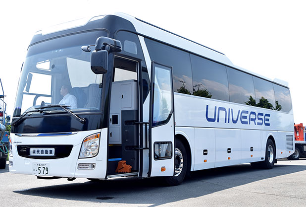 現代自動車のバス