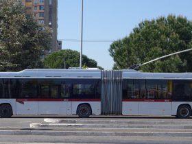 新しいトロリーバスが導入!イタリアのブレダメナリーニバス社(BredaMenarinibus)のアヴァンシティHTB(Avancity HTB)