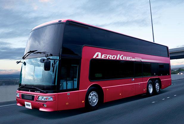 三菱ふそうの大型バス