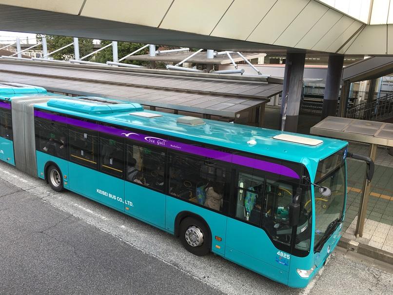 京成バスの連節バス