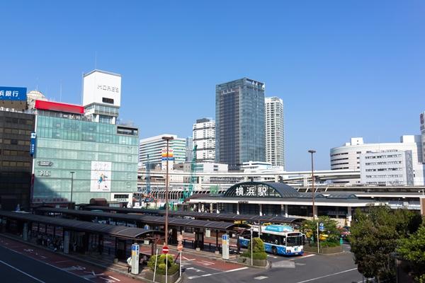 横浜駅バス乗り場