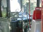 扉付きキャビン状の運転席