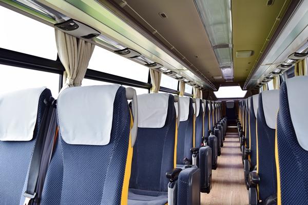 新型エアロクィーンの座席