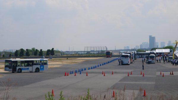 舞洲の空の広場・試乗コース
