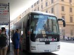 Terravision社のバス係員