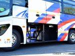 中型バスの貫通式トランク