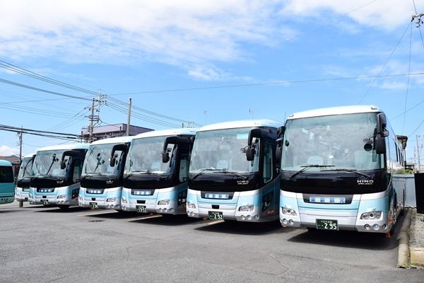 東京都日野市にあるバス会社「東新観光」