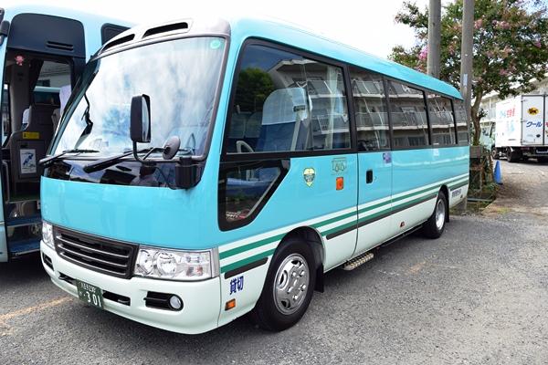 東新観光の所有するマイクロバス「リエッセⅡ」