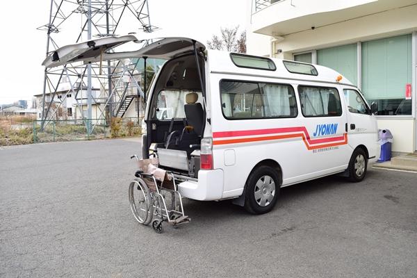 常南交通が所有する介護タクシー