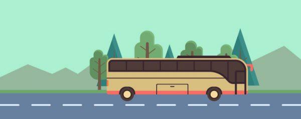 福島から貸切バスでTDL