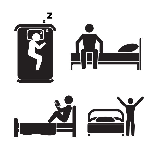 深夜運行の場合は横になって休めるホテルの部屋が必要