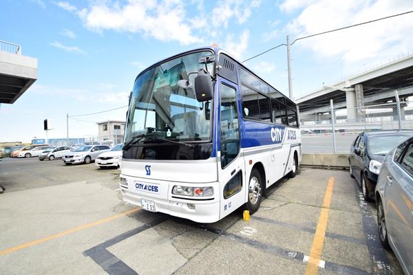 中型バス(写真提供:シティアクセス)